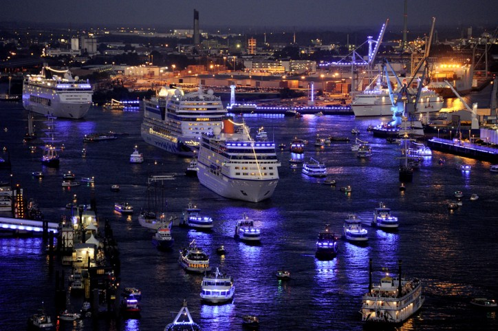 570,000 People Visit Hamburg Cruise Days