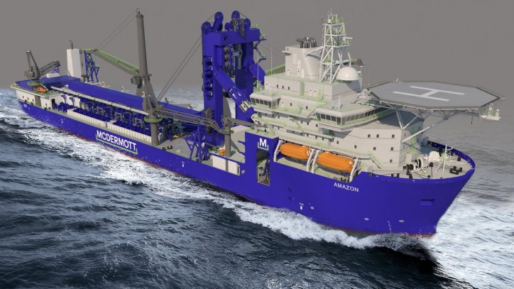 Royal IHC to perform major modification on McDermott pipelay vessel