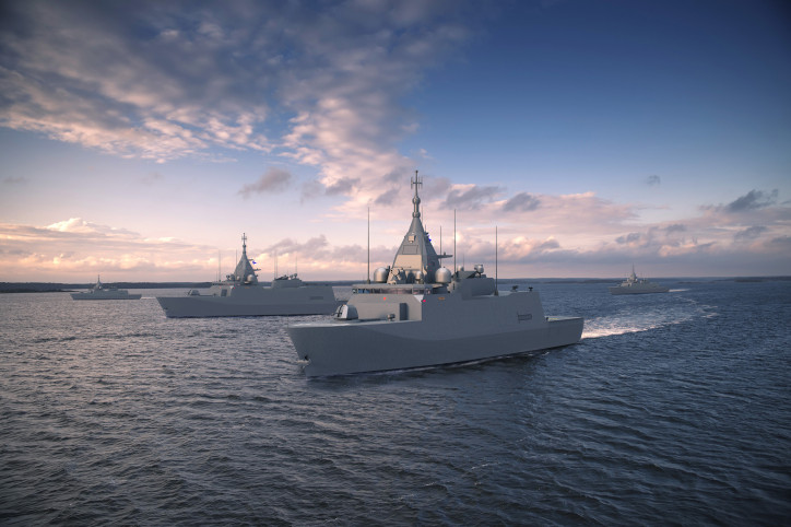 Multipurpose corvettes for the Finnish Navy to be built at Rauma shipyard