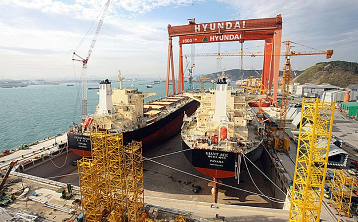 Hyundai Heavy posts USD 398 Million net loss in Q3