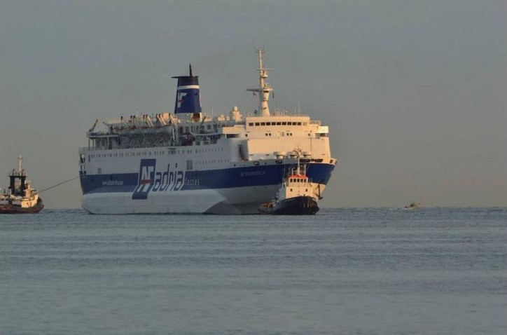 Fire Bursts Out Aboard Ferry In The Adriatic Sea
