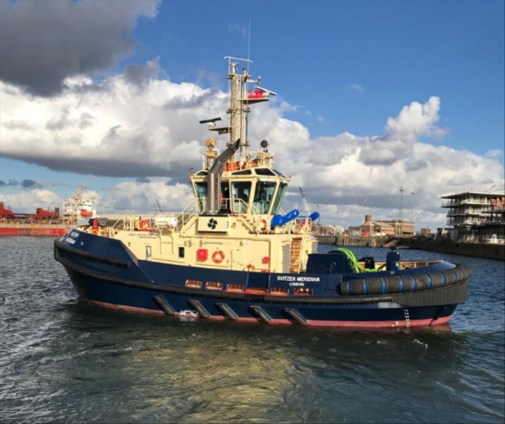 London welcomes new-built ATD tugboat