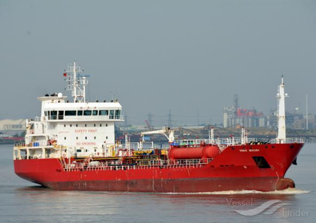 Seven crew members of Bomar Mercury suffered from gas intoxication