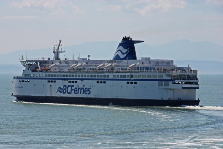 BC Ferries' Spirit of British Columbia To Conduct Sea Trials For Mid-Life Upgrade And Natural Gas Conversion Project