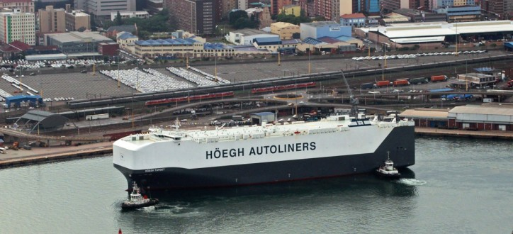 Höegh awarded Best Performing Shipping Line in Durban
