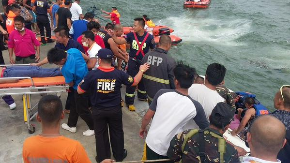 The Philippines Coast Guard rescued 118 passengers after KIM Nirvana sinking, 26 people still missing