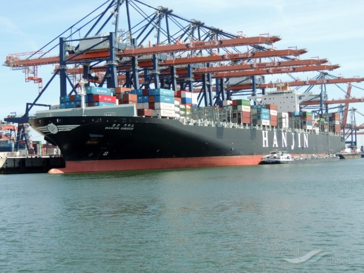 Container ship Hanjin Greece stranded off California finally unloads
