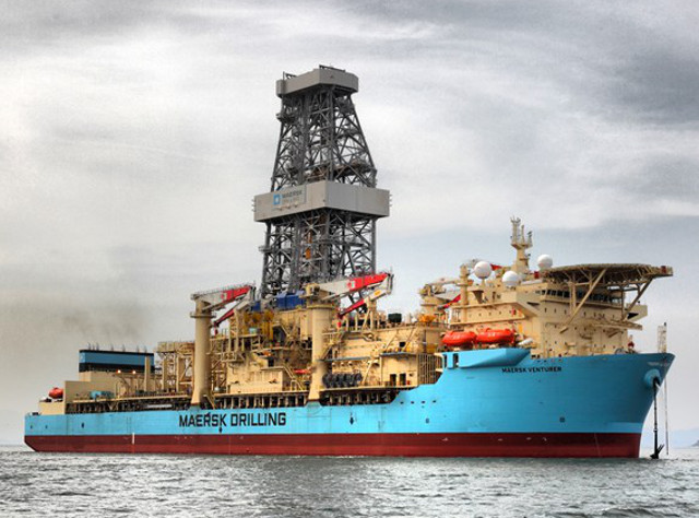 Maersk Drilling secures contract for Maersk Venturer with Total