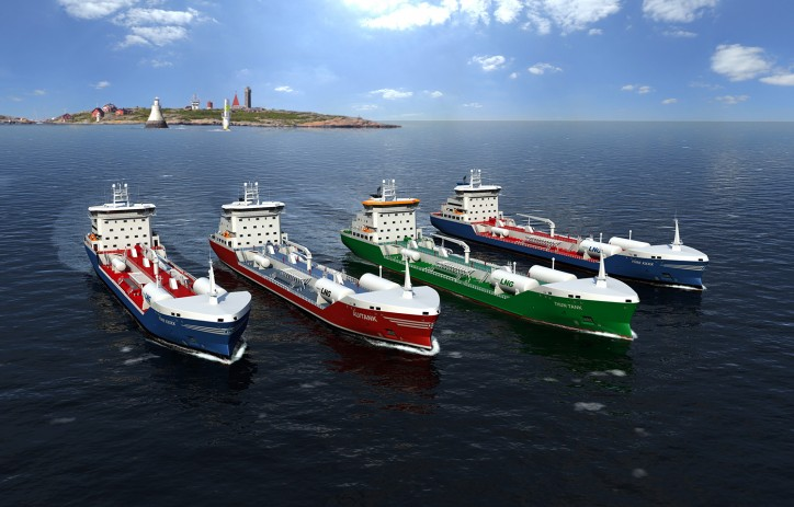 Wärtsilä to supply comprehensive scope of solutions for four new Swedish LNG fuelled tankers