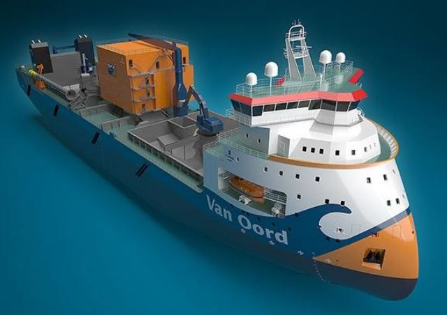 SINOPACIFIC starts construction of first of a kind vessel for  Van Oord