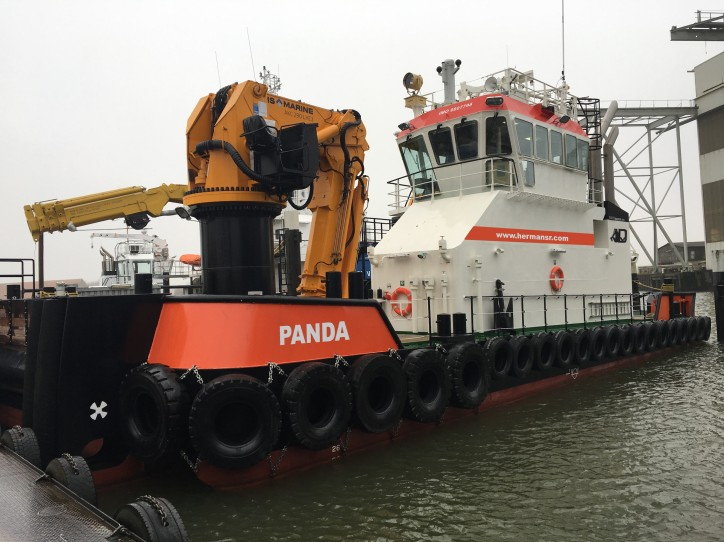 Panda a new and powerful addition to the Herman Senior fleet