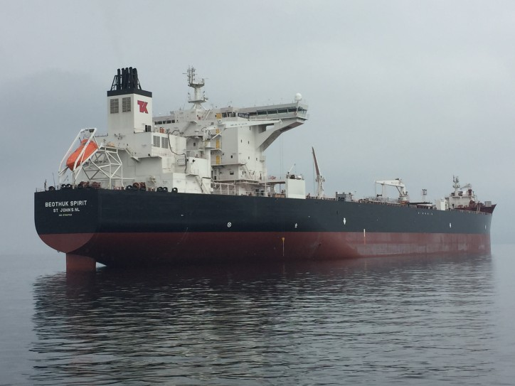 Teekay Offshore's First Heritage Class Newbuilding Shuttle Tanker is Delivered