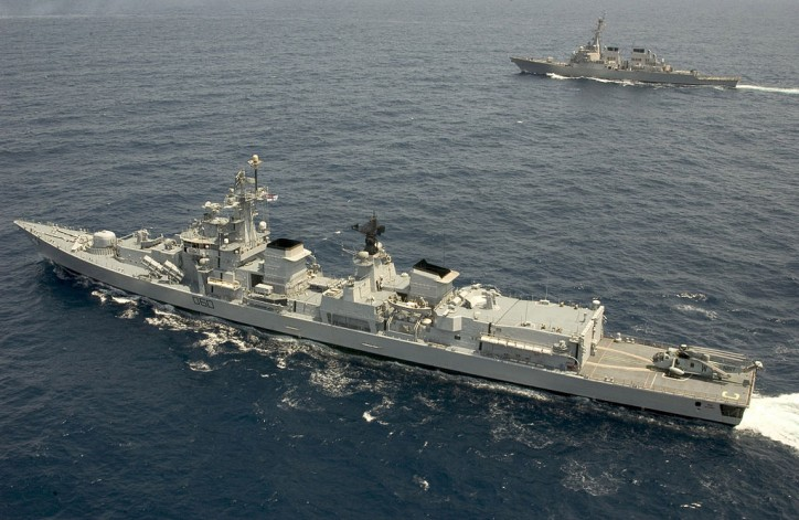 Indian Navy Monitors Chinese activities in Indian Ocean region