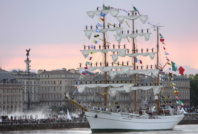 One Of The Biggest Tall Ships In The World To Sail Into Dublin During The Following Week