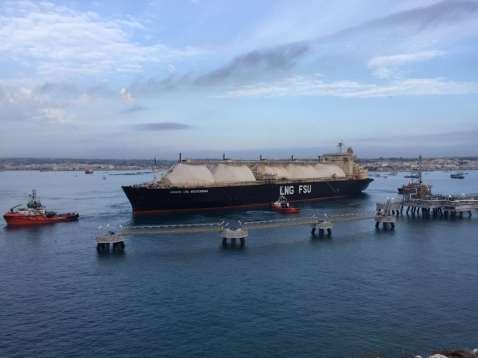 Video: Armada LNG Mediterrana arrives in Malta