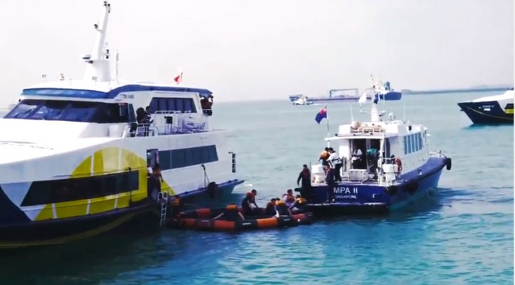 MPA Conducts Ferry Evacuation Exercise To Test Emergency Preparedness (Video)