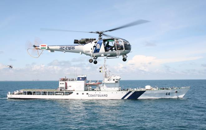 IRClass release Rules for Indian Coast Guard ships