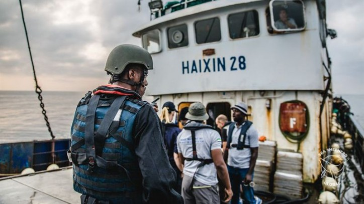 Sea Shepherd Helps Arrest Two Illegal Fishing Vessels