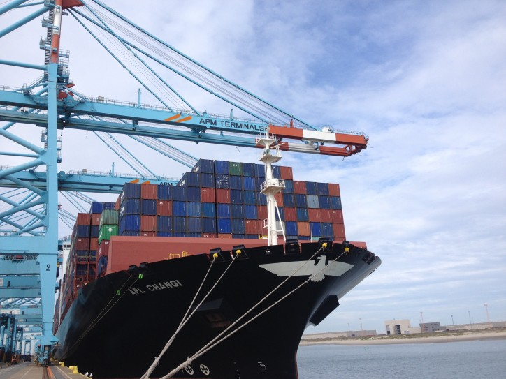 APM Terminals Zeebrugge Regains Asian Service