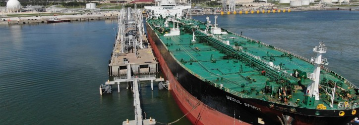 Moda Midstream Announces Ingleside Expansion and Successful Commissioning of VLCC Loading Berth