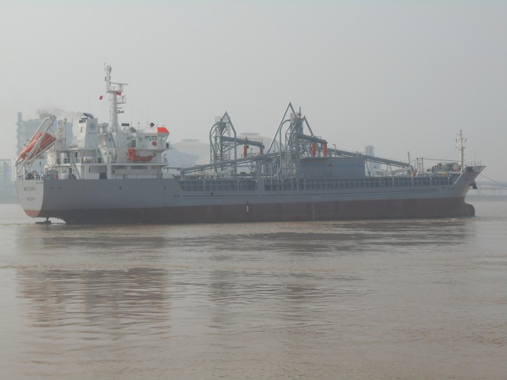 NACC Capri - A Newly Built Pneumatic Lakes Fitted Cement Carrier Joins NACC Fleet