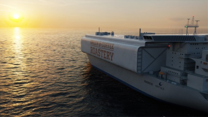 Wärtsilä presents its 'visions of future shipping'