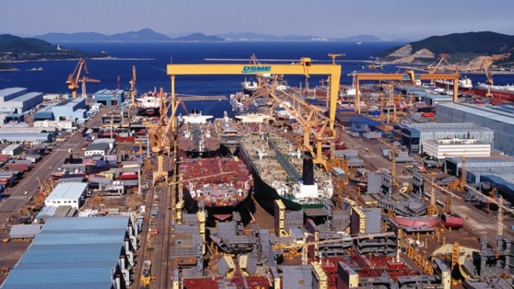Korea to inject more than $2.64 bln into DSME