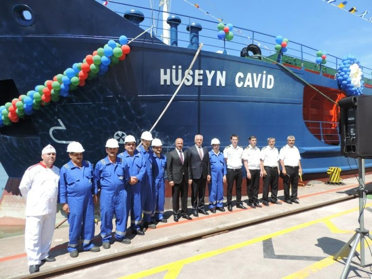 Caspian Shipping Company commissions new vessels