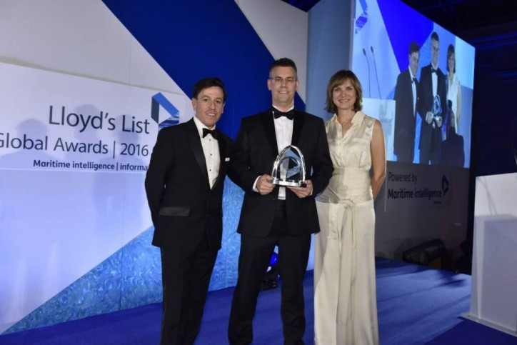 "Hapag-Lloyd Wins Lloyd's List ""Global Award"""