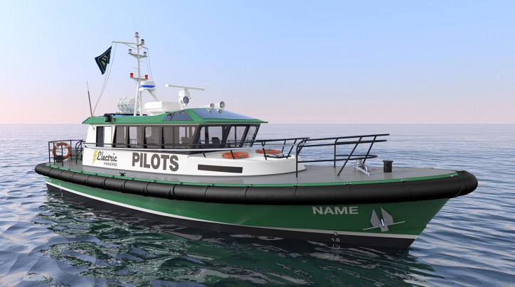 All New Electric Pilot Boat Design by Robert Allan Ltd.