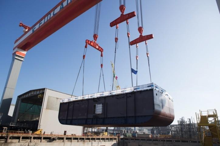 Fincantieri: Dry dock works start on Viking's sixth ocean ship