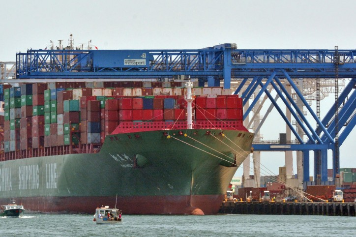 Port of Boston Welcomes Largest Cargo Ship to Date