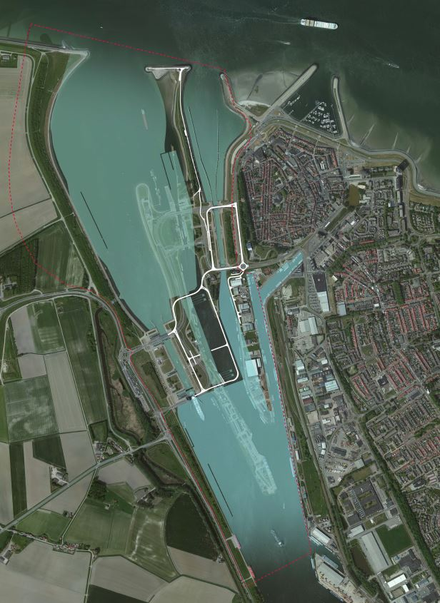 Dutch-Belgian joint venture Sassevaart to build the New Lock in Terneuzen