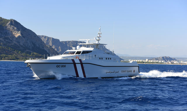 Rolls-Royce powered composite vessels enter service with Qatari Coast Guard