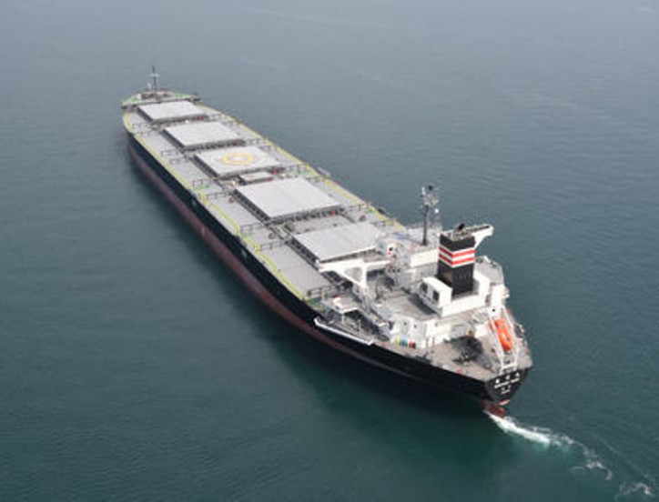 Third Generation Noshiro Maru Coal Carrier Enters Service for Tohoku Electric Power