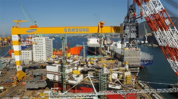 Samsung Heavy wins US$240 mln deal for 2 special-purpose ships