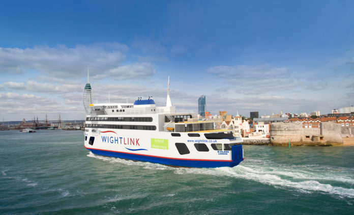 Wightlink's new flagship pioneers hybrid technology in the Solent
