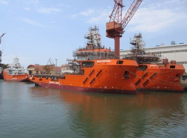 Sentinel Marine marks milestone occasion with the launch of ERRV Malin Sentinel