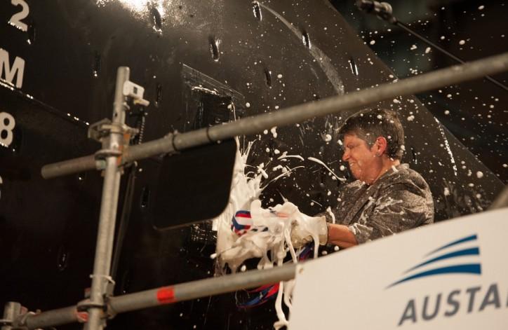 Austal USA Celebrates Christening Of USNS Yuma (T-EPF-8)