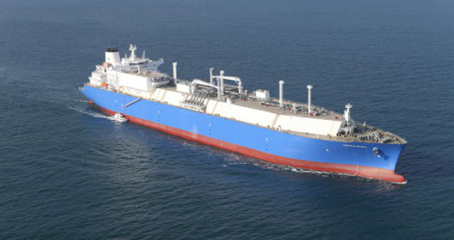 Teekay's first MEGI LNG carrier completes sea trials