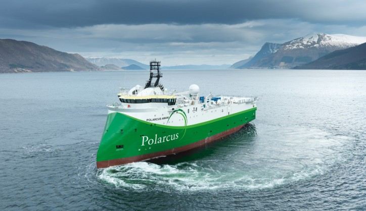 Polarcus breaking production records with largest man-made moving object on earth
