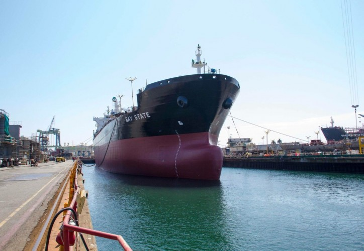NASSCO completes float-out of new LNG-ready tanker