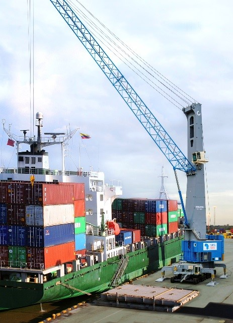Konecranes to deliver the Mediterranean region's largest-ever mobile harbor crane