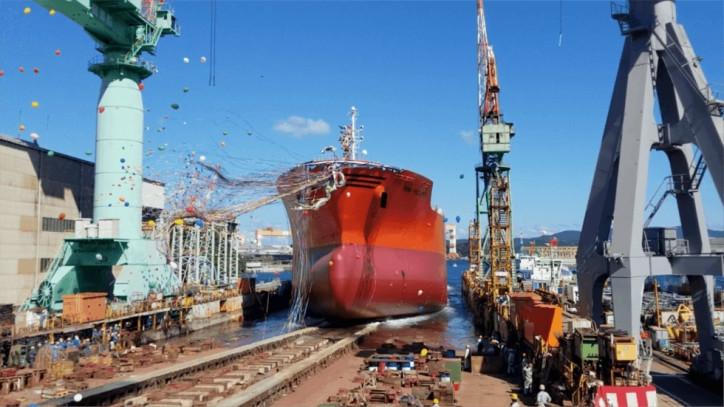 Odfjell newbuilt chemical tanker Bow Prosper officially named