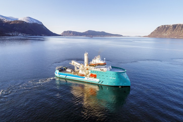 Acta Marine takes delivery of the Acta Auriga from Ulstein Verft
