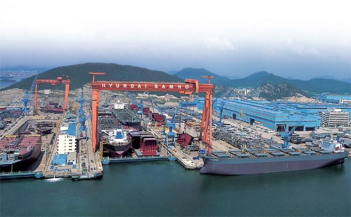 Hyundai Samho Heavy Industries Wins Order for 2 LNG Tankers from Greek Shipbuilder
