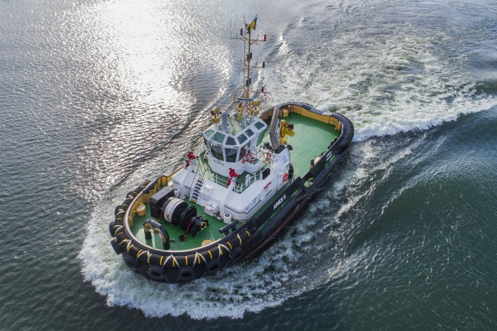 Five Damen tugs delivered to Empresa de Navegación Caribe, Cuba