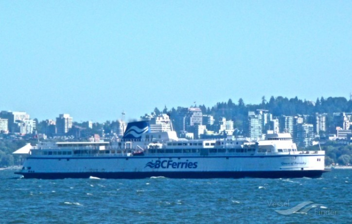 BC Ferries' Queen Of Burnaby To Be Temporarily Removed From Service on Comox-Powell River Route Due To Mechanical Issues