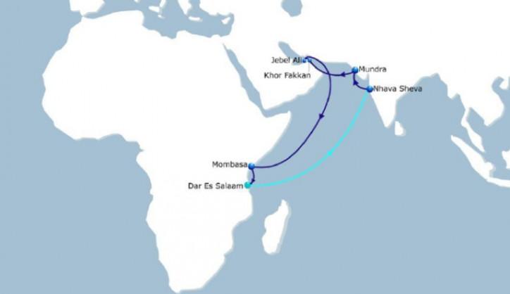 CMA CGM Swahili Express service