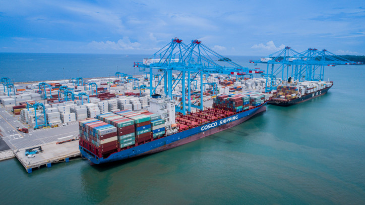 Increased productivity enables new direct Shanghai service at APM Terminals Moín